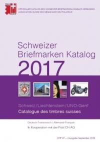 Schweizer Briefmarken Katalog 2017