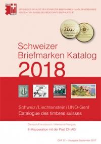 Schweizer Briefmarken Katalog 2018