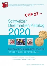 Schweizer Briefmarken Katalog 2020